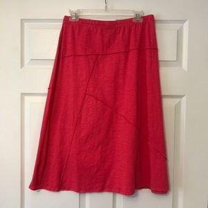 J.Jill Knit Hot Pink Skirt S/P